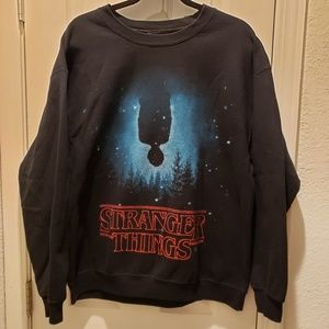 Netflix Stranger Things Large Pullover Sweater